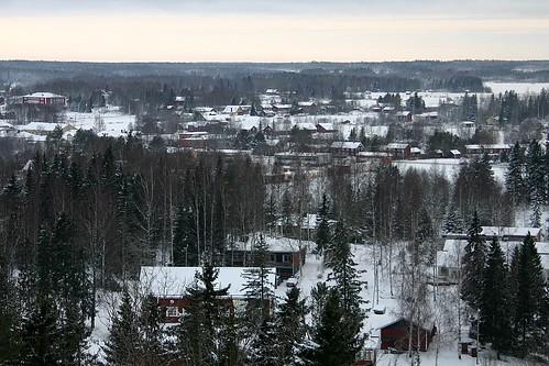 finland town view vöyri vörå