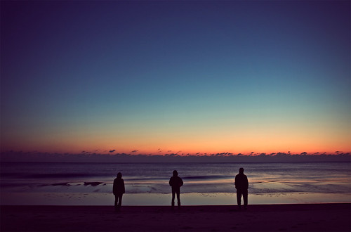 beach silhouette sunrise delaware bethanybeach canon1740mmf4l churchretreat kumc canon40d