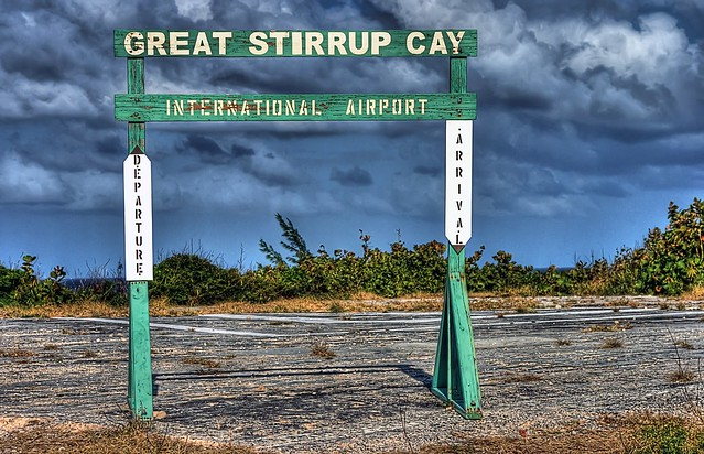 Great stirrup cay international airport flickr photo sharing