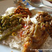 Burmese Food, Assortment of Burmese Vegetarian Curries - Mandalay, Burma