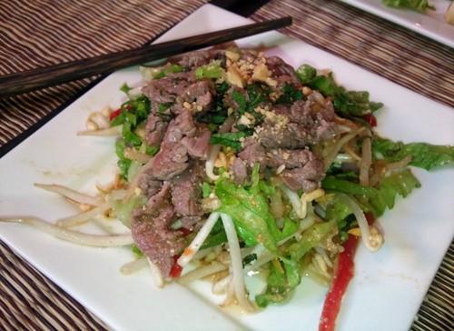 Salade boeuf Citronnelle - La Mousson