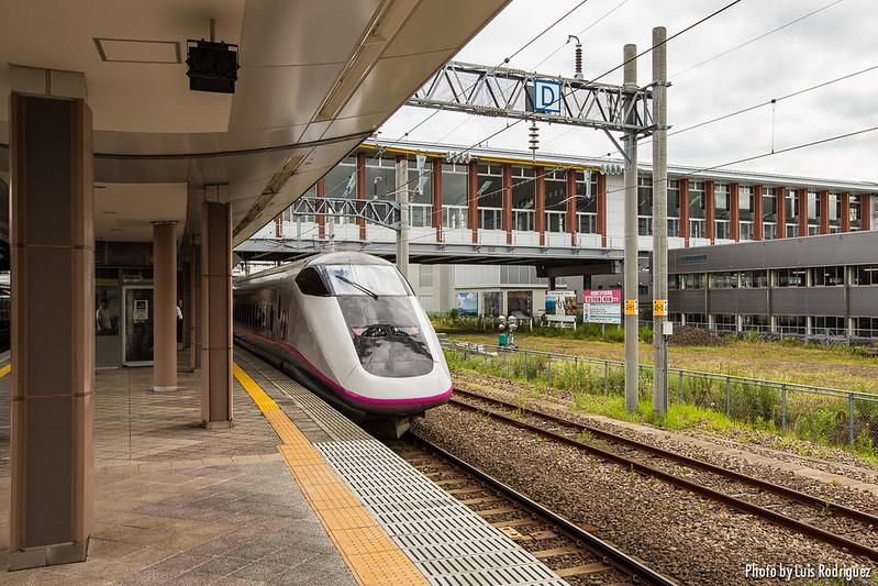 E3 Komachi en la estación de Akita