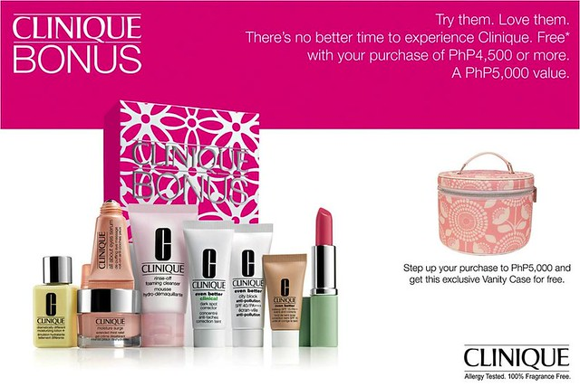 Clinique Bonus Time March 2014