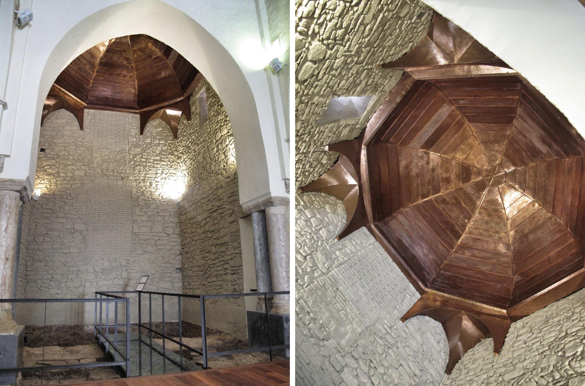 cupula_restauracion_rehabilitacion_iglesia de santa maria_castillo tarifa