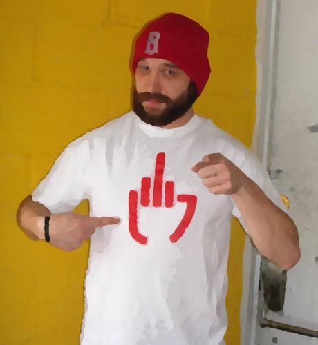Left hand middle finger You!