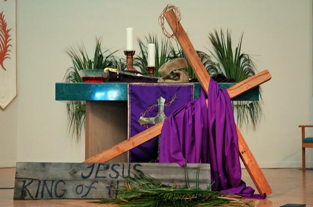 Lenten Altar | Flickr - Photo Sharing!