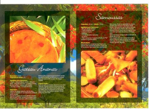 Gateau Ananas & Samoussas