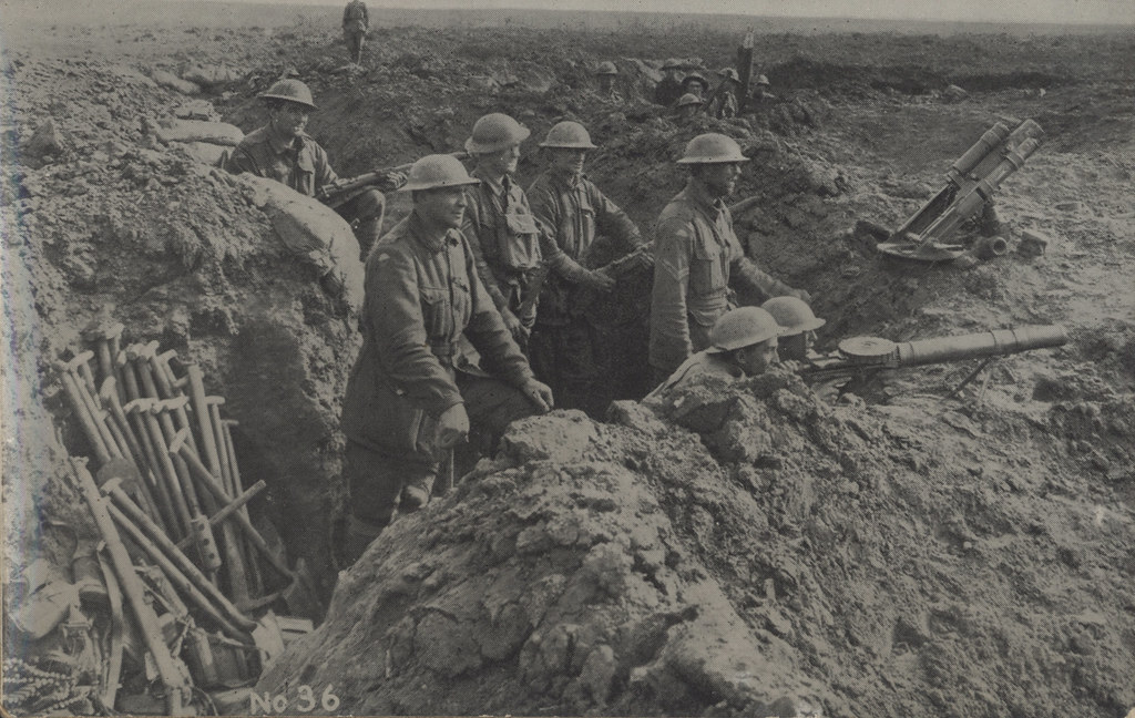 view of the soldier during ww1