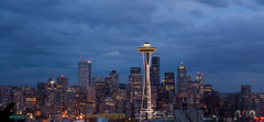 View of Seattle downtown from Kerry park