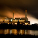 Huntly powerstation @ night by Kyle Carter
