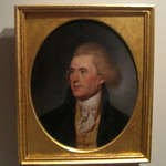 Philadelphia - Old City: Second Bank Portrait Gallery - Thomas Jefferson