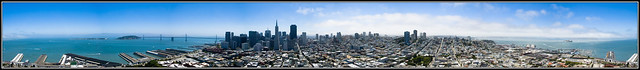 360 From Coit Tower