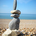 Brighton Rock Balance by Dave Gorman