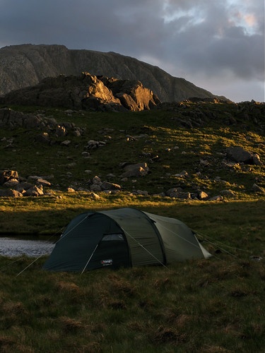 Camped at High House Tarn Bottom