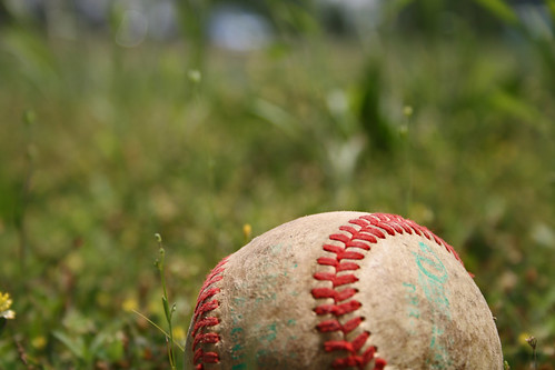 old red white blur macro sports grass america weeds baseball patriotic tradition pastime seams chriscpk214