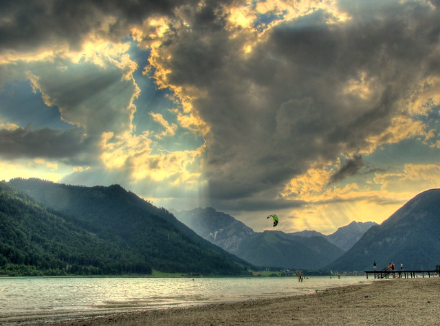 Achensee before Thunderstorm