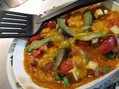 stew, curry, vegetable, vegetarian food, meat, food, dish, caponata, cuisine,