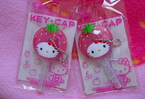 strawberry key caps