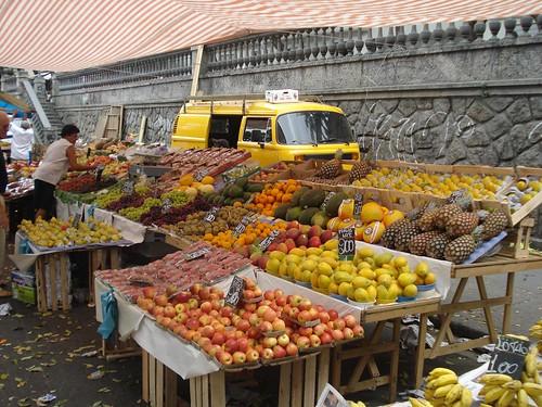 Mercado en Santa Teresa, Rio de Janeiro