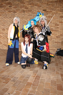 Kingdom Heart Cosplayers