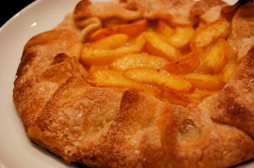 Peach Galette | Flickr - Photo Sharing!