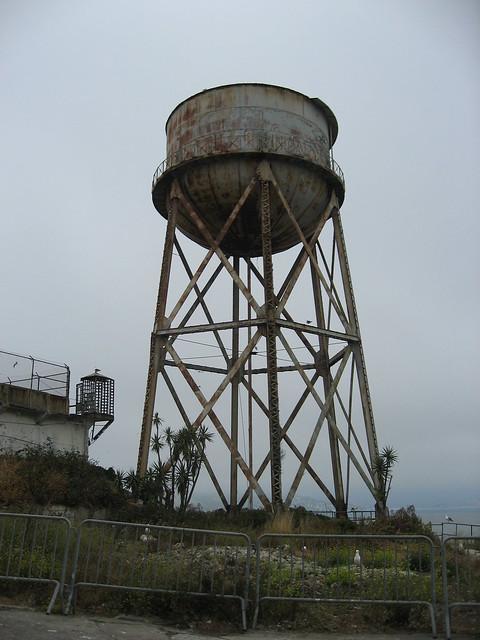 Depósito de agua de alcatraz