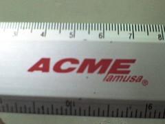 gauge(0.0), vehicle registration plate(0.0), ruler(1.0), label(1.0),
