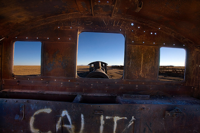 Train cemetary - Uyuni - Bolivia