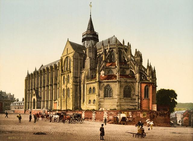 Town church, Eu, France, ca. 1895