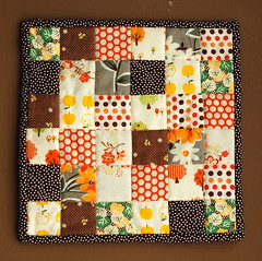 hello, Fall. [little quilt no. 1]
