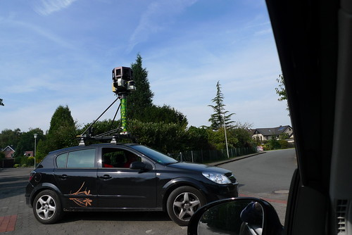 google maps photo car