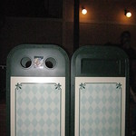 Fantasyland Rubbish Bins at Night
