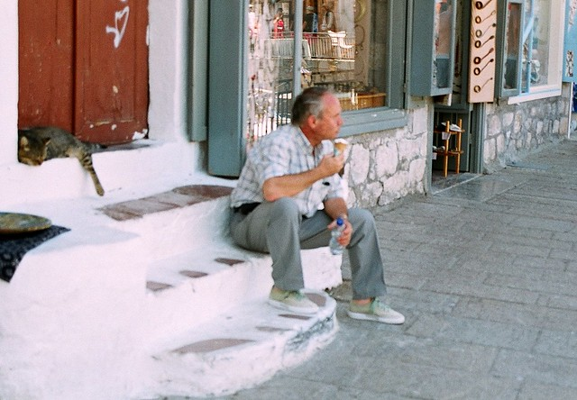 Leonard Cohen Greece