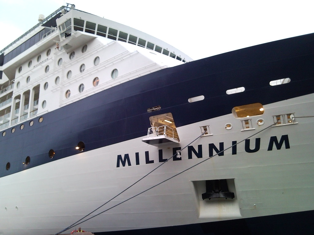 The Millenium Cruise Ship Docked At Circular Quay, Sydney