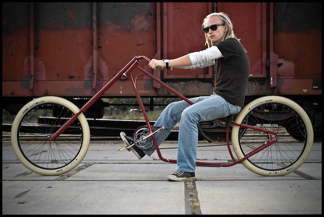 Build Chopper Bicycle http://www.flickr.com/photos/super2cv/3102406584/