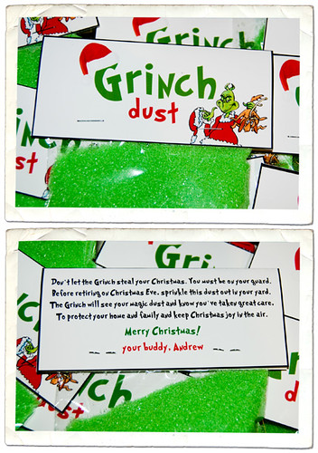 Grinch Dust Printable Poem Template | Search Results | Calendar 2015