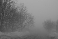 .25 mile visibility