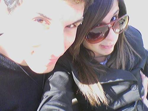 io e la mia ex...vecchi tempi
