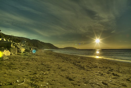 Paekakariki Sunset HDR