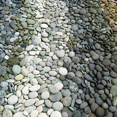 stone wall(0.0), wall(0.0), soil(0.0), walkway(0.0), flooring(0.0), rubble(1.0), cobblestone(1.0), pebble(1.0), stream bed(1.0), rock(1.0), gravel(1.0),