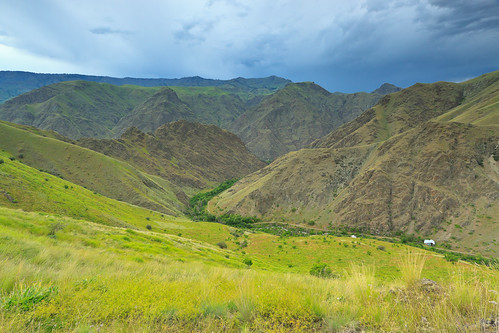 canyon idaho backpacking scenicviews nezpercenationalforest hellscanyonnra