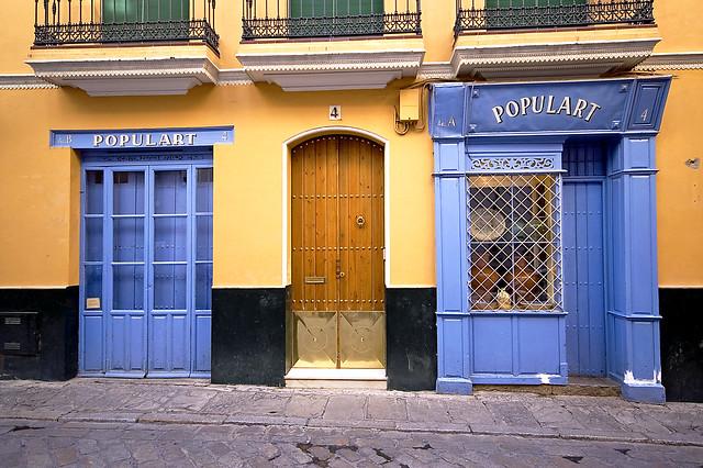 Tienda del Barrio Santa Cruz - Sevilla