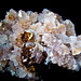 Spessartine Garnet on Quartz