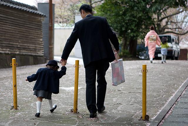 Tokyo - going to school