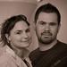 Donna from WOM World and Jason Stone by Bryan Villarin