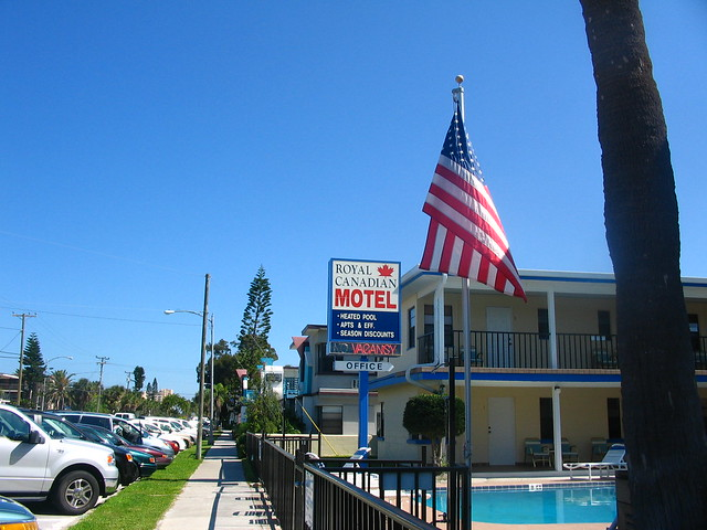 Royal Canadian Motel Clearwater Fl