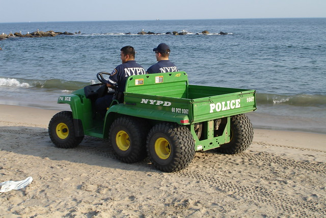 nypd john deere gator th 6x4 flickr photo sharing. Black Bedroom Furniture Sets. Home Design Ideas
