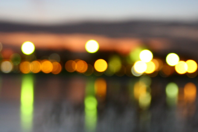 bokeh and the city