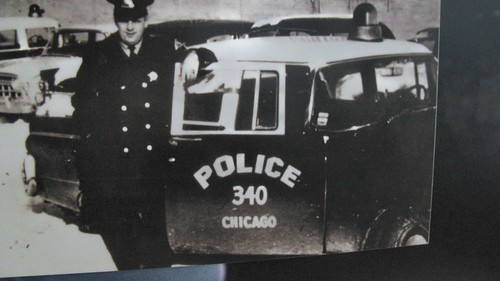 Mid 1950's era Chicago Police car. by Eddie from Chicago