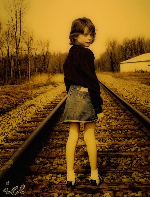 Kristen On Tracks